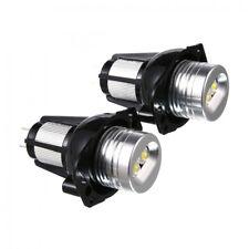 Pair 20W LED Angel Eye Halo Ring Marker Headlight Bulb For BMW E90 E91 2005-2008