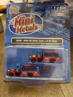 Mini Metals N Scale 50396 White WC Bottle Truck  O-so Grape N Scale NEW