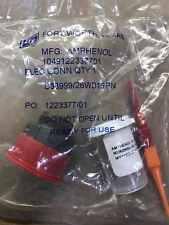 Amphenol D38999/26WD19PN CIRCULAR CONNECTOR PLUG SIZE 15, 19POS
