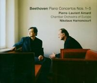 Pierre-Laurent Aimard - Beethoven: Piano Concertos Nos. 1-5 [CD]