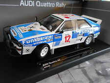 AUDI Quattro Rallye A2 Safari #12 Wittmann Diekmann Funkberater Sunstar 1:18