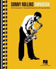 Sonny Rollins Omnibook for B-flat Instruments Jazz Transcriptions Book 000232485