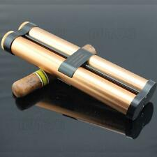 COHIBA Golden Portable Cigar Hydrating Tube/Case Holds 2 Cigars