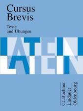 Cursus Brevis Latein Schulbuch guter Zustand