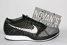 Nike Flyknit Racer Orca 2.0 Volt Black White Oreo 526628-011 sz6 HTM Supreme QS