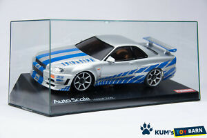 Kyosho MINI-Z Body NISSAN SKYLINE GT-R R34 The FAST and the FURIOUS MZX34WS