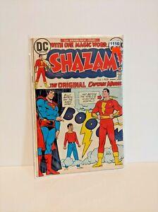 SHAZAM #1 1st Captain Marvel at DC Origin Retold Superman Cover [DC Comics,1973]