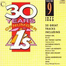 30 Years of Number Ones 9 (1977-1980) Abba, Kate Bush, 10CC, Blondie, Gar.. [CD]
