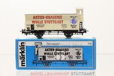 H0 Märklin 4678 Württemberg Bierwagen Brauerei Wulle Güterwagen boxcar +OVP /F37