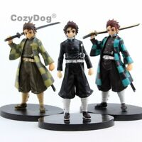 New Anime Demon Slayer: Kimetsu no Yaiba Kamado Tanjirou PVC Action Figure Toys