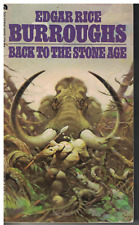 Back to the Stone Age by Edgar Rice Burroughs 1973 Frank Frazetta book cover