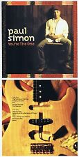 """Paul Simon """" You'Re the One """" From 2000! 11 Songs And 3 Bonus Tracks! Brand CD"""