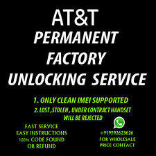 Samsung Galaxy S4 ACTIVE OR S5 ACTIVE UNLOCK CODE AT&T NO CONTRACT FACTORY CODE