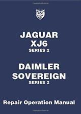Jaguar XJ6, 3.4/4.2 Series 2 Workshop Manual (Official workshop Manuals) by Jagu