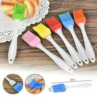 Baking BBQ Basting Brush Bakeware Pastry Bread Oil Cream Silicone Cooking Tool