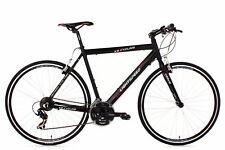 Fitness Speed Bike 28'' Rennrad Lightspeed Schwarz Alu KS Cycling M200B