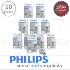 OFFERTA STOCK 10 LAMPADINE PHILIPS H7 12 V 55 W PX26d 12972PROQC1 FARI AUTO MOTO