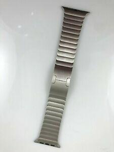 Original Genuine Apple Watch stainless steel Link Bracelet band 42MM 44mm Silver