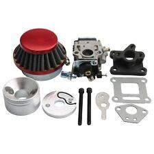 15mm Carburetor Air Filter Carburettor Kit Carb r Stack 49cc Mini ATV Dirt Pocke