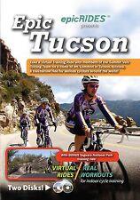 Epic Tucson Arizona Mt. Lemmon Virtual Training DVD - Indoor Cycling Bike Rides