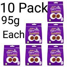 Cadbury Dairy Milk Giant Buttons Chocolate Bag 95g×10