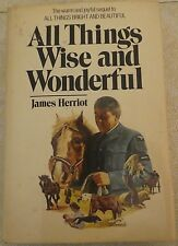 All Things Wise and Wonderful by James Herriott - 1977 HC/DJ