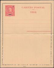TIMOR, 1903. Letter Card H&G 2, Mint