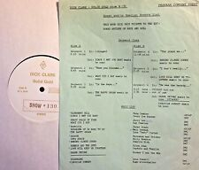 Radio Show: DICK CLARK GOLD #130 KEYBOARDS! FATS DOMINO,JERRY LEE LEWIS,BOOKER T