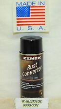 1 ~ Aerosol Can Zenex Rust Converter Stops Corrosion Eliminates Rust Paintable
