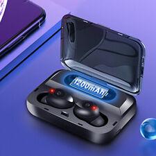 Bluetooth 5.0 TWS Auriculares Inalambricos Caja De Carga Cascos Auriculares