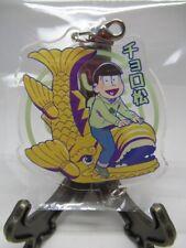 Anime Osomatsu San Choromatsu Nagoya Castle Acrylic Key Chain Strap From Japan