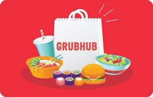 GrubHub gift Card $25