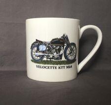 Bone China 18fl Oz Velocette KTT Motorbike Mug Hand Decorated (Almost A Pint)