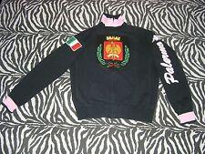 Robe di Kappa – PALERMO – Felpa Zip (2007) Nera (RdK Vintage Eroi JKT Ultras)