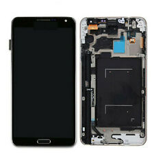 Touch Screen LCD Black Replace+Frame USA For Samsung Galaxy Note 3 N9005 N900T
