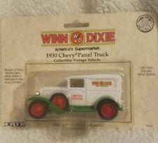 ERTL Vintage Vehicles 1930 Chevy Panel Truck 1/43 Scale Die Cast Publix 1990
