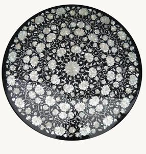 """30"""" Marble Center Table Top Pietra Dura inlay Handmade Home & Garden Decor"""