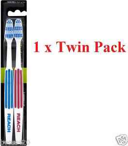 Listerine Reach Interdental Toothbrush Firm (Twin Packs)