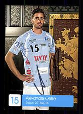 Alexander Oelze Autogrammkarte Bergischer HC 2015-16 Handball + A165386