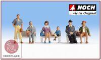 N escala 1:160 figuras modelismo maqueta trenes Noch 36240 pasajeros voyageurs