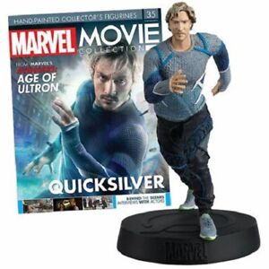 QUICKSILVER MARVEL MOVIE COLLECTION FIGURE #35 in BOX & MAG NEW EAGLEMOSS