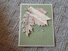 Autumn blessings leaves owl card kit of 10 made w/ Stampin' Up!