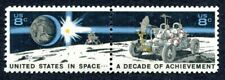SPACE STAMPS: Setenant USA in Space - 2 SCOTT 1435b - Excellent Mint/OG (1B)