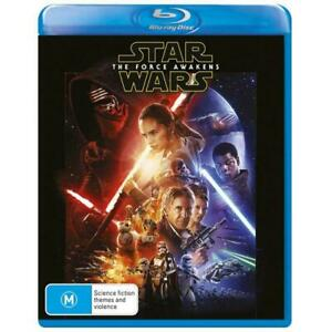 Star Wars: Episode VII - The Force Awakens Blu-Ray **Region Free**