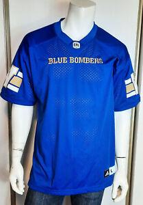 Men 2016 Adidas Winnipeg Blue Bombers Home Jersey sz Large