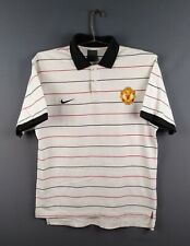 Manchester United jersey S training polo shirt soccer football Nike ig93