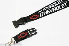 Chevrolet Lanyard NEW Black  - UK Seller - Car  Keyring ID Holder Phone Strap