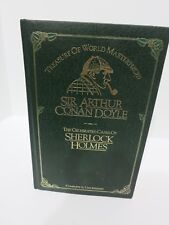 The Celebrated Cases of Sherlock Holmes by Sir Arthur Conan Doyle- Leather 1981