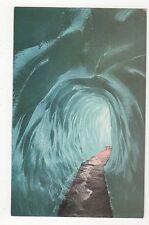 Grindelwaldgletscher Eishoehle Switzerland Vintage Postcard 0989