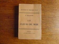 Horticulture: LES FLEURS DU MIDI Ed. Baillière 1928 Culture florale industrielle